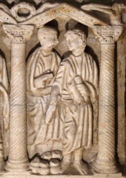 sarcófagopaleocristiano de martos