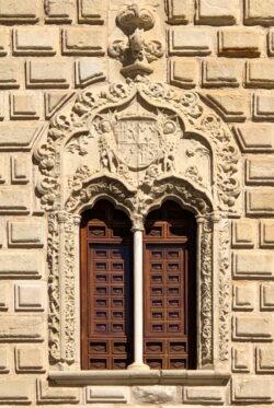 ventana gótica