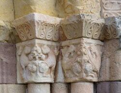 capiteles bestiario medieval