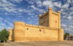 castillos de la escuela de valladolid
