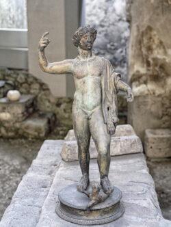 escultura bronce herculano
