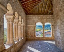 románico porticado guadalajara
