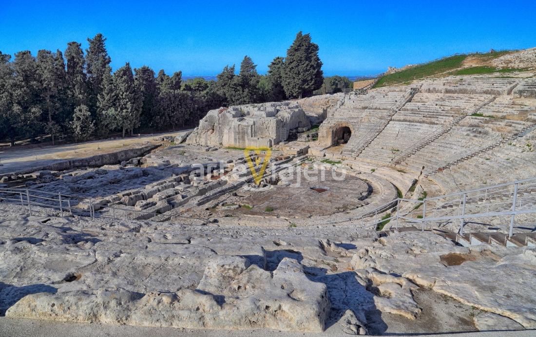 parque arqueológico de neapolis en siracusa