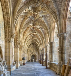 claustro de la catedral de león