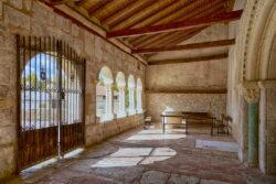 galería porticada romanica miño san esteban