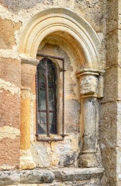 ventana románica burgos