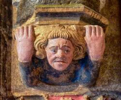 portada de la virgen del dado catedral de león