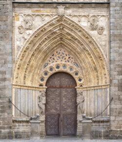 portada catedral ávila
