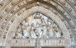 puerta del perdón de la catedral de toledo