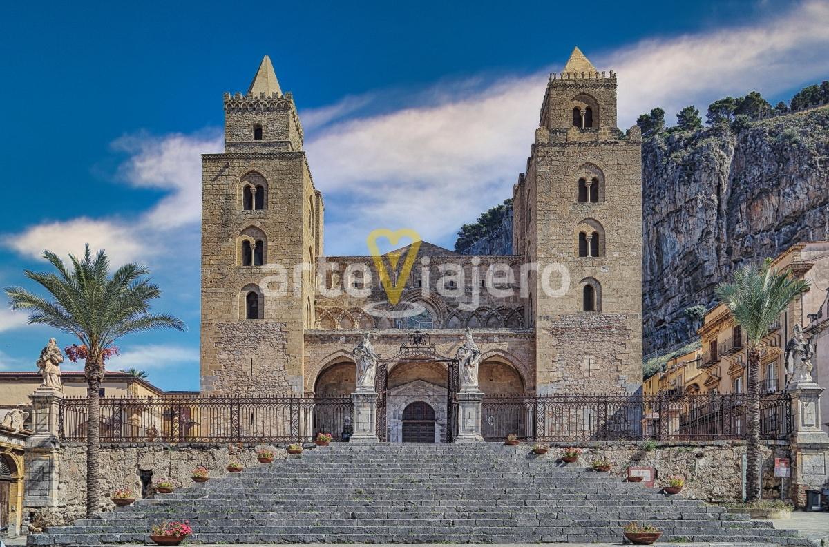 catedral de cefalú románico