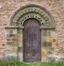 portada iglesia aramil