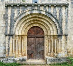 portada de la iglesia de siones