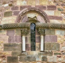 ventana románica aramil