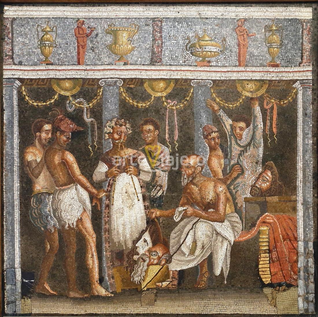 mosaico de los actores