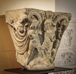 capitel románico museo de palencia