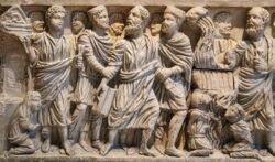 sarcófago paleocristiano san justo de la vega