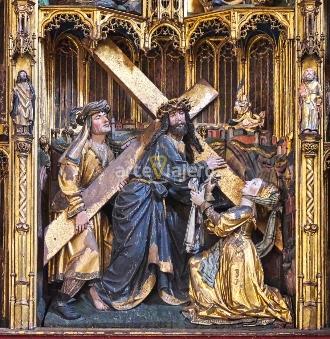 retablo de la santa cruz