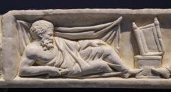 tapa de sarcófago romano