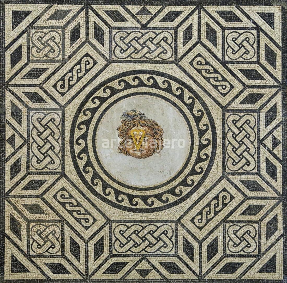 mosaico romano de medusa