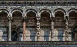 fachada románico pisano