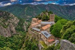 abadía de san martín del canigó