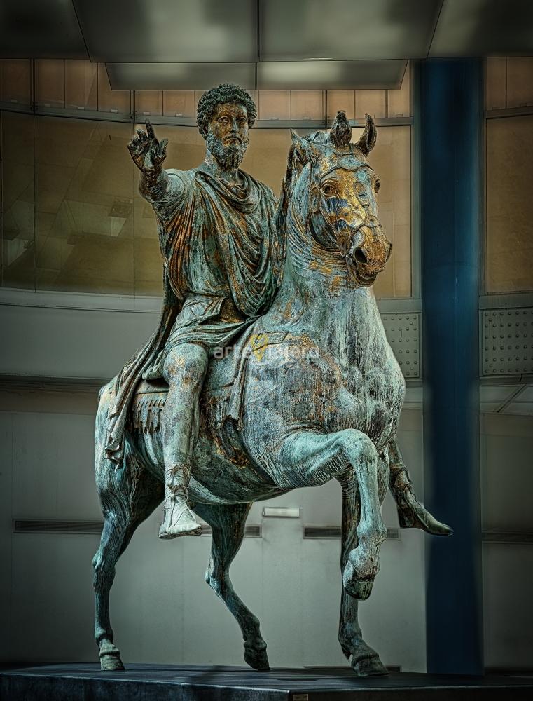 estatua ecuestre de marco aurelio
