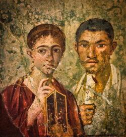 terentius neo y su esposa