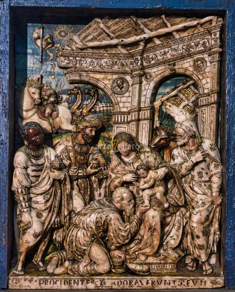 retablo de la epifanía de damián forment