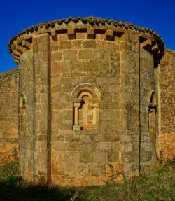 ábside de la iglesia de tagarrosa