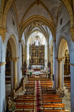 iglesia de santa eugenia de villegas